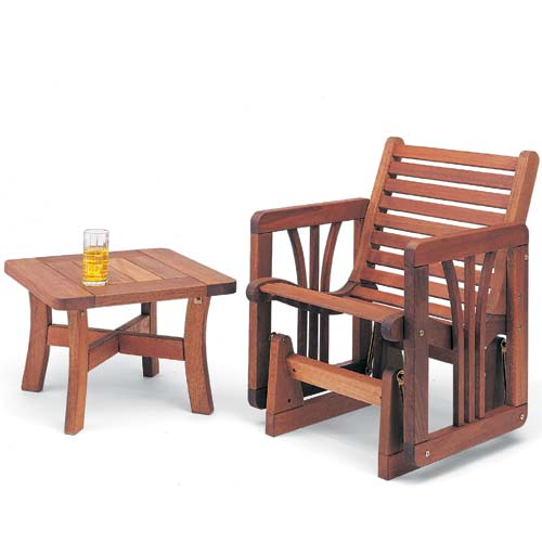 Benches Teak Patio Furniture   Glider Chairs Outdoor .