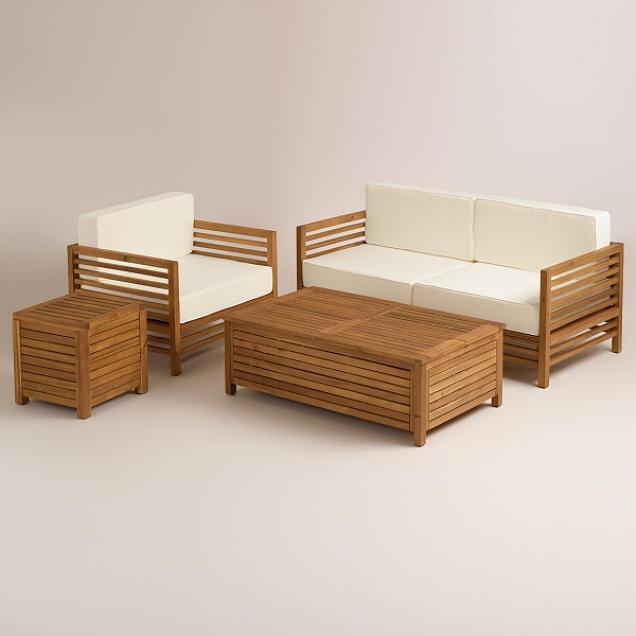 Benches Teak Patio Furniture Teak Outdoor Furniture - Teak deep seating patio furniture