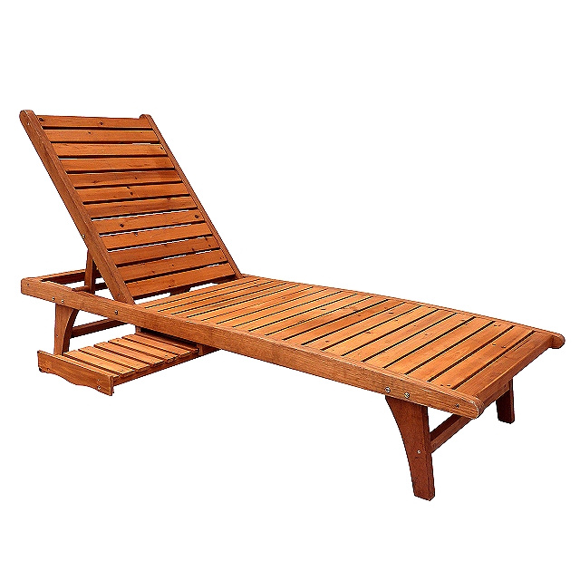 Outdoor Teak Patio Furniture Loungers