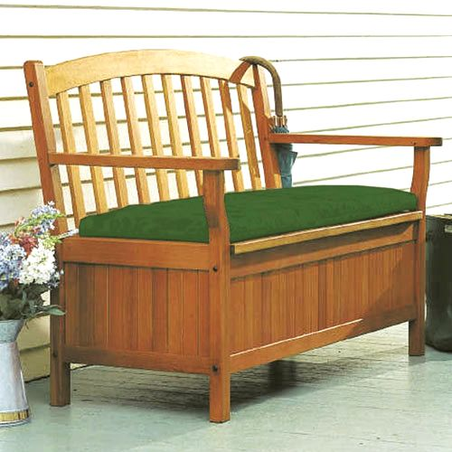 Furniture Outdoor Furniture Storage Bench Teak Storage Bench
