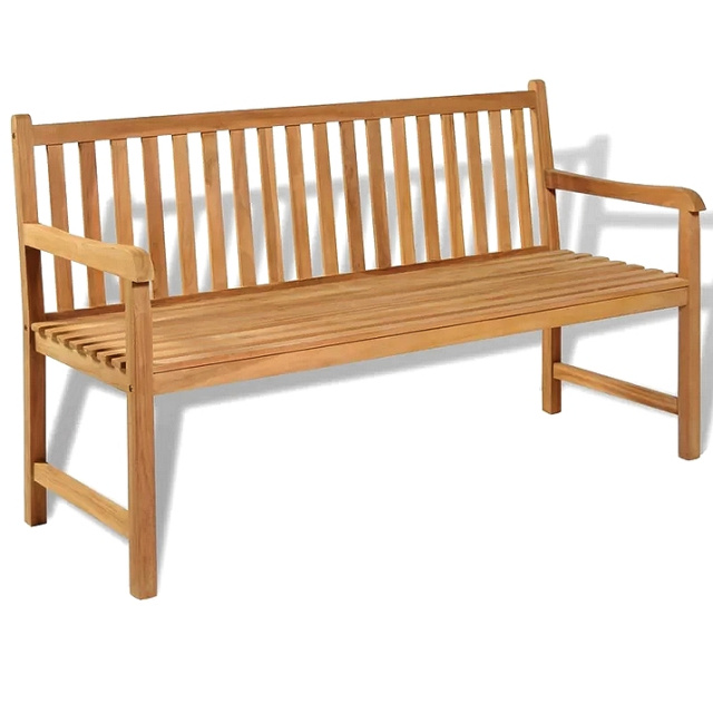 Teak 5 Foot Patio Outdoor Garden Bench