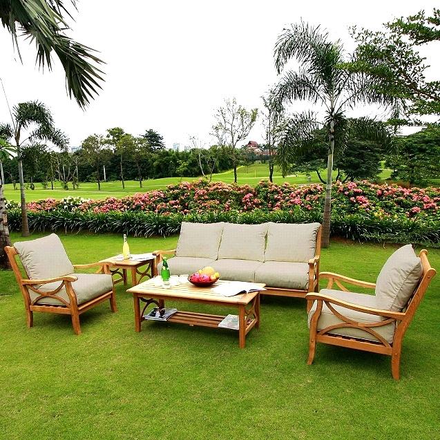 Sets Teak Eucalyptus Shorea Kapur Patio Deck Furniture