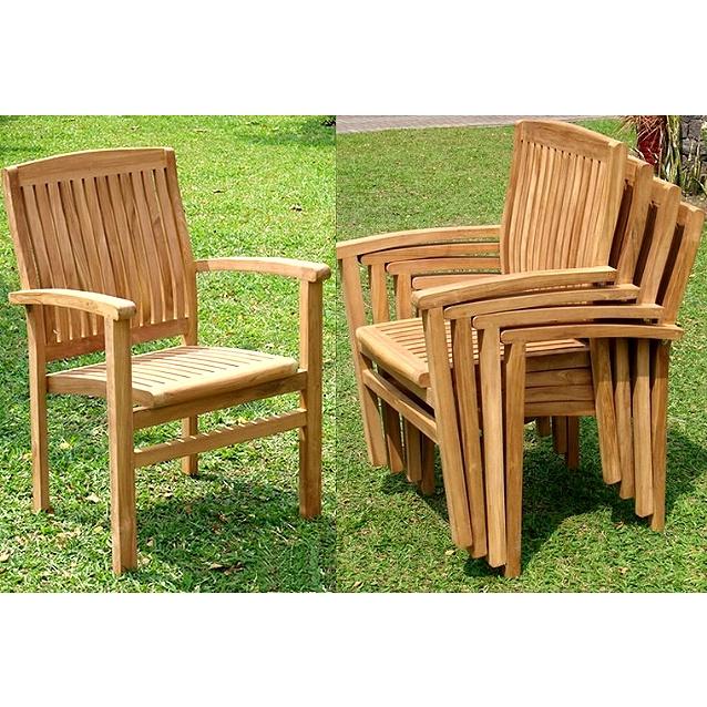 Outdoor Teak Patio Furniture - Sets >