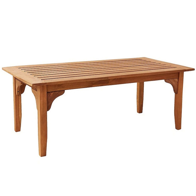 Teak Commercial Grade Patio Coffee Table