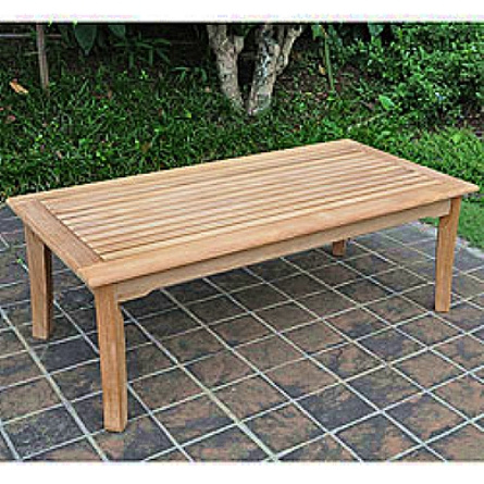 Teak Outdoor Coffee Table View Images