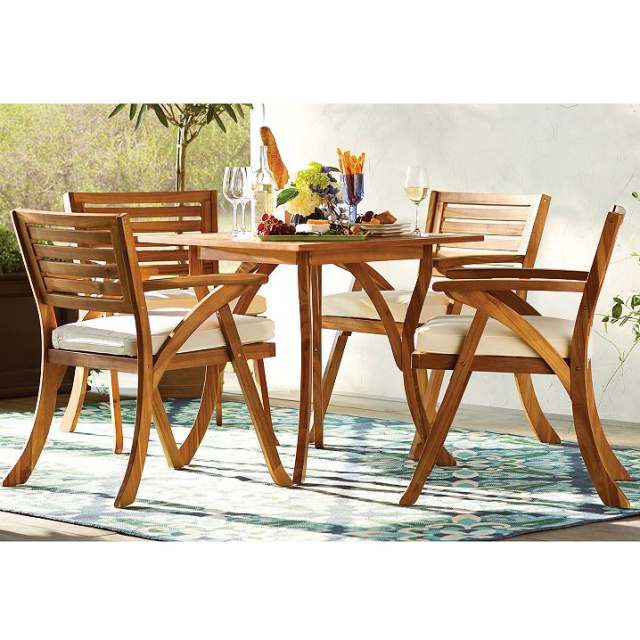 Clearance teak patio furniture teak outdoor furniture for Teak patio furniture