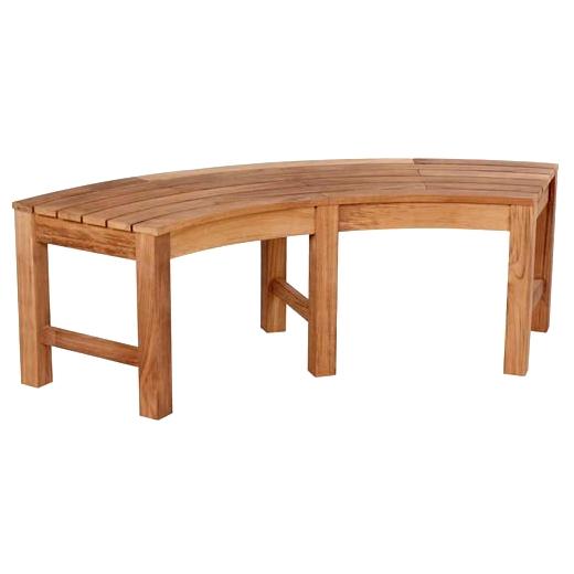 Furniture > Outdoor Furniture > Garden Bench > Curved Garden Bench