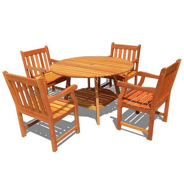 30 Elegant Teak Patio Furniture