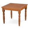 Eucalyptus Deluxe Hardwood Outdoor Side End Table