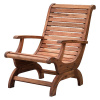 Acacia Plantation Style Outdoor Patio Deck Chair