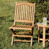 Teak Folding Outdoor Patio Deck Chair
