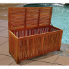Teak Type Deck Storage Box Chest