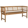 Teak Type 5.5 Foot Spindle Outdoor Spindle Bench