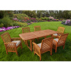 Acacia Mission 7 Piece 55 to 79 Inch Expandable Dining Set