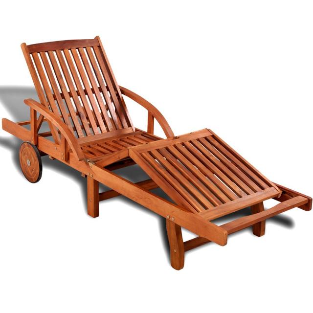 Acacia 5 Position Outdoor Patio Lounger